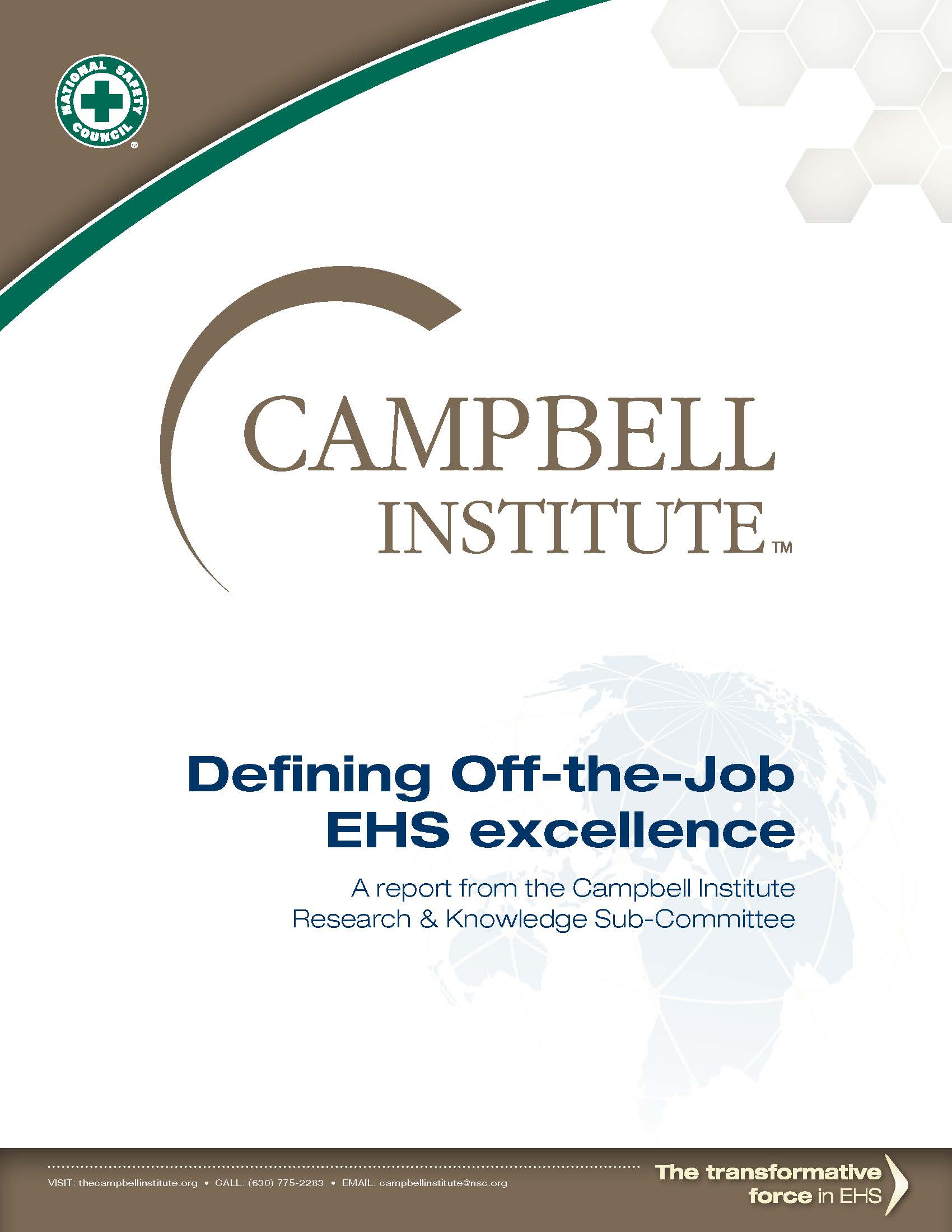 Defining Off-the-Job EHS Excellence WP