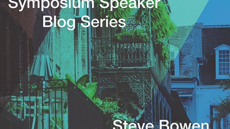 Symposium Speaker – Steve Bowen