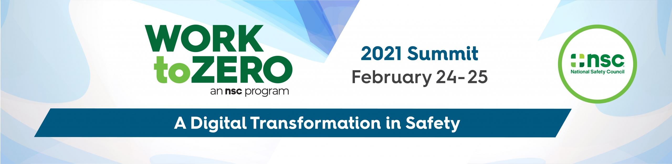2021 Work to Zero Summit
